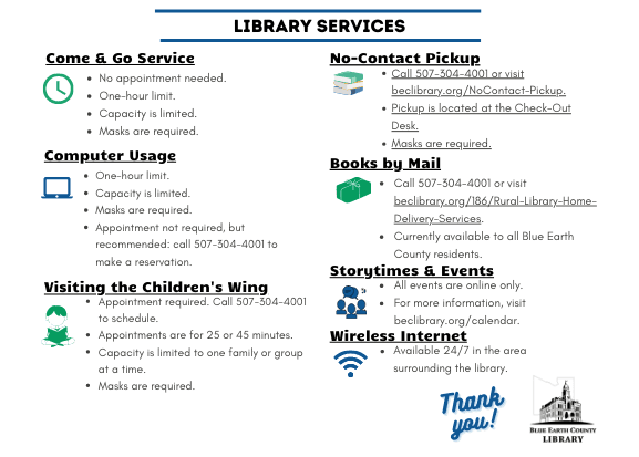 Library Services 3-31-21
