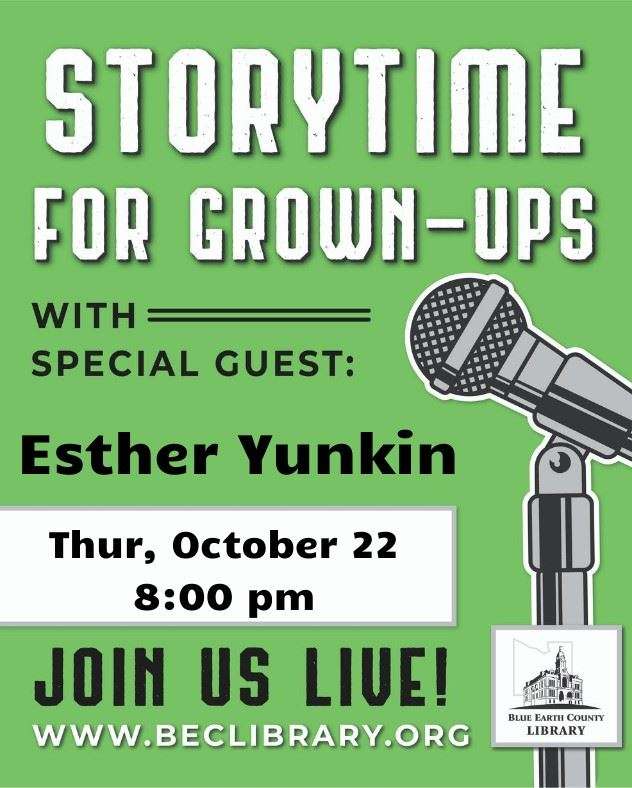 Storytime for grownups - EstherYunkin