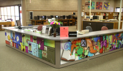 The Lovelace Wing's reference desk