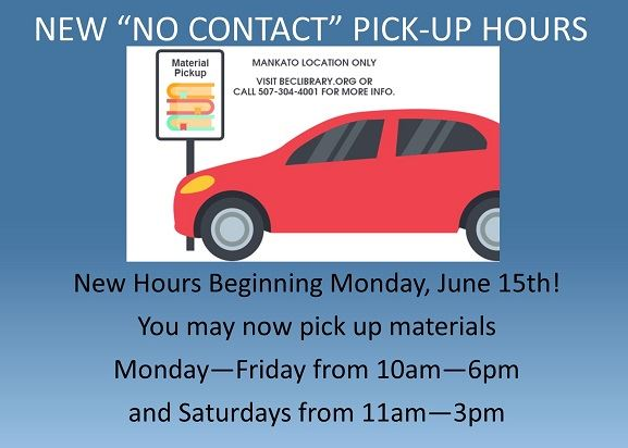 No Contact Pickup Hours